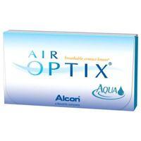 6sz +3,5 soczewki miesięczne marki Air optix aqua