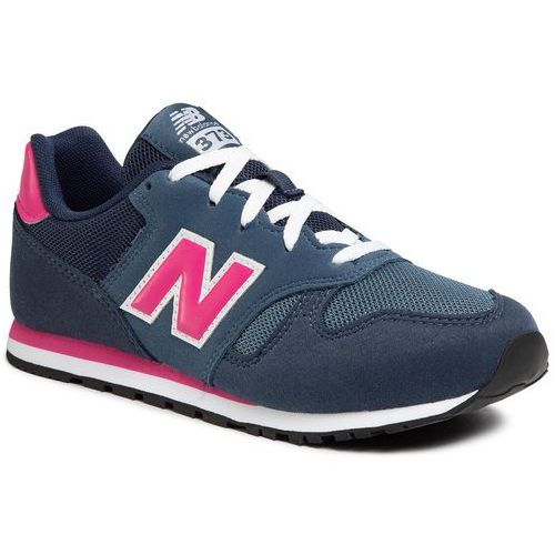 New balance Sneakersy - yc373ab granatowy