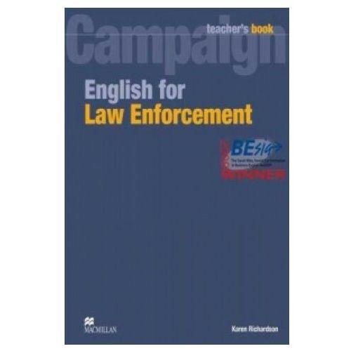Campaign English for Law Enforcement Teacher's Book (książka nauczyciela) (9780230732575)
