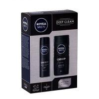 Nivea Men Deep Clean zestaw 250 ml dla mężczyzn