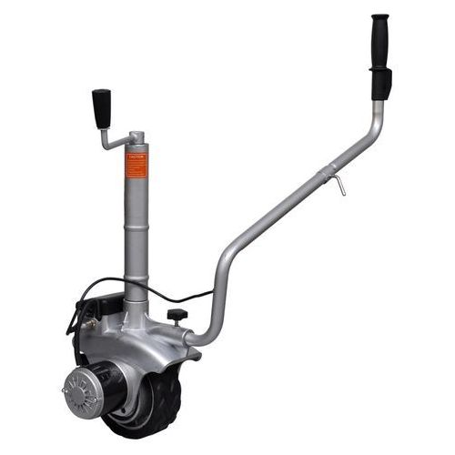 vidaXL Aluminiowe koło podporowe/manewrowe do przyczepy 12 V 350 W