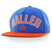 czapka z daszkiem K1X - Baller Snapback Cap Royal Blue/Flame (4251)