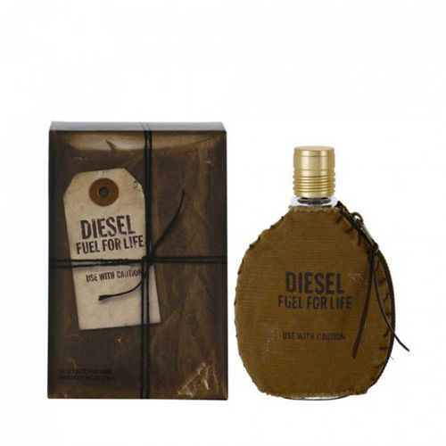 DIESEL Fuel for Life Men EDT 50 ml Dla Panów - Bombowy upust