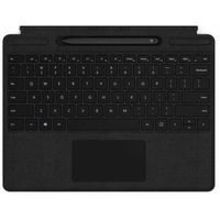 Tablet Microsoft etui ochronne na tablet surface pro x keyboard + pen bundle (black), eng qsw-00007