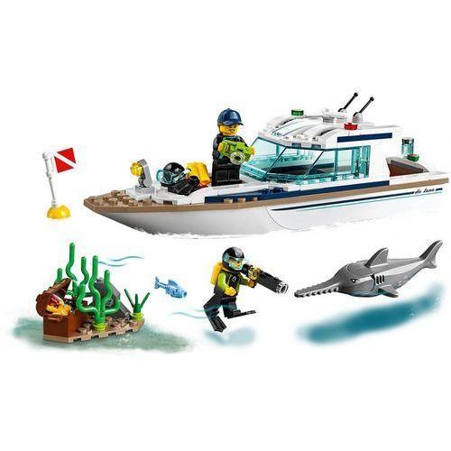 60221 JACHT (Diving Yacht) KLOCKI LEGO CITY