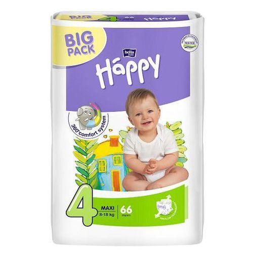 Pieluszki bella baby happy maxi (4) 8-18 kg - 66 szt. big pack promocja Tzmo s.a