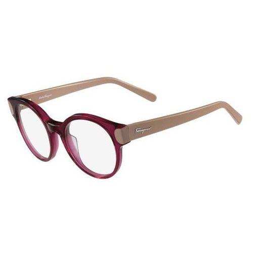 Okulary korekcyjne sf 2757 523 Salvatore ferragamo