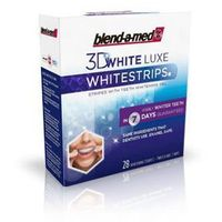 Blend-a-med whitestrips 3d white luxe x 28 pasków marki Procter& gamble