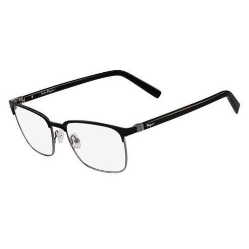 Salvatore ferragamo Okulary korekcyjne sf 2523 021