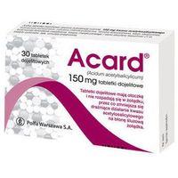 Tabletki ACARD 150mg x 30 tabletek