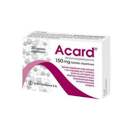 Acard 150mg x 30 tabletek Polfa warszawa