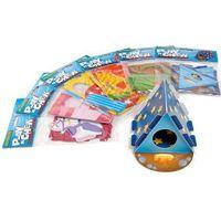 Tekturowe zabawki - domki dla gryzoni marki Hp small animal