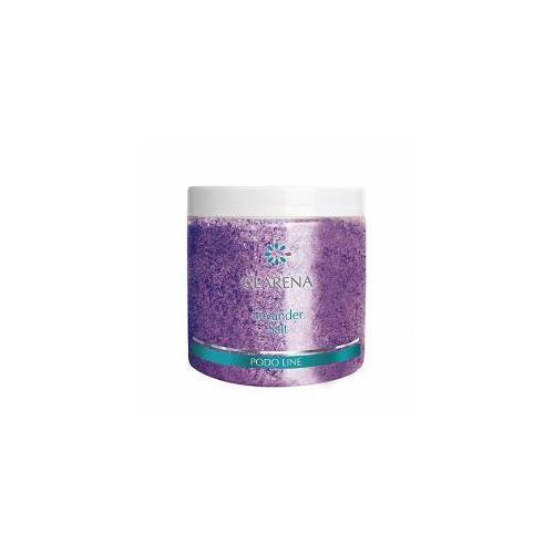Clarena Podo Line, sól do kąpieli stóp i ciała, zapach lawendy, 250g