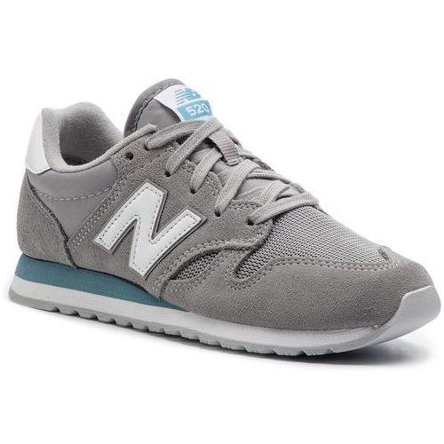 Sneakersy NEW BALANCE - U520GH Szary, w 9 rozmiarach