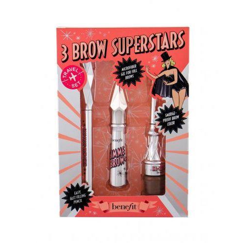 Benefit gimme brow+ 3 brow superstars zestaw zestaw 3 warm light brown - Sprawdź już teraz