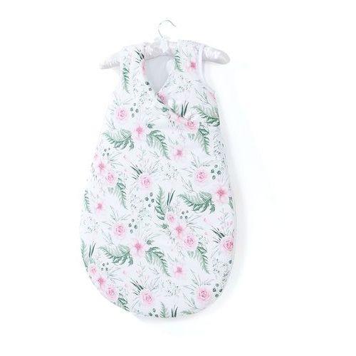 Mamo-tato śpiworek niemowlęcy do spania bubble - różany ogród