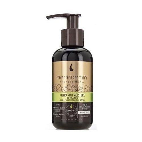Ultra rich moisture oil treatment nawilżający olejek do włosów 125ml Macadamia professional