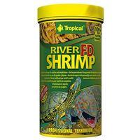 Tropical fd river shrimps - liofilizowane krewetki rzeczne dla gadów i płazów 100ml/10g