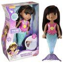 Lalka Magiczna Pływaczka Syrenka Dora