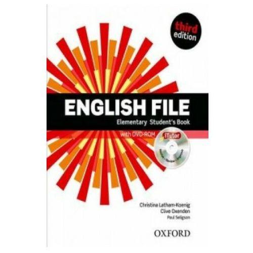English File Elementary - Student's book (+ DVD), oprawa broszurowa
