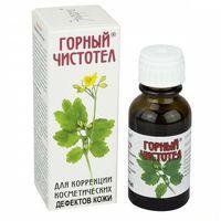 Glistnik górski Jaskólcze ziele ekstrakt 15 ml