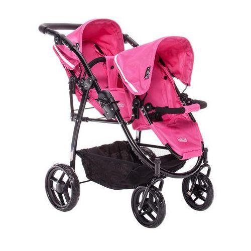 Britax Wózek dla lalek DUO TWIN, Różowy (5099070170640)
