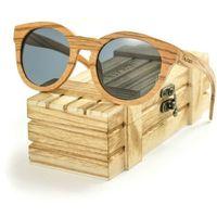 Drewniane okulary przeciwsłoneczne Niwatch Virgo