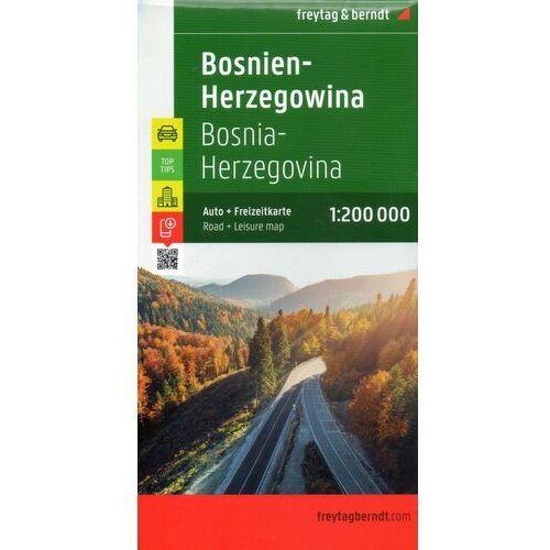 BOŚNIA I HERCEGOWINA 1:200 000 FREYTAG AND BERNDT WYD. 2 - Wysyłka od 3,99, Freytag and Berndt