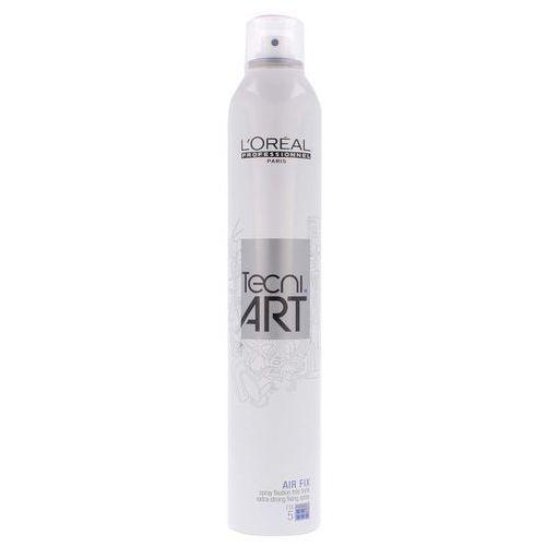 Loreal Tecni Art, Air Fix, bardzo mocno utrwalający spray do włosów, 400ml
