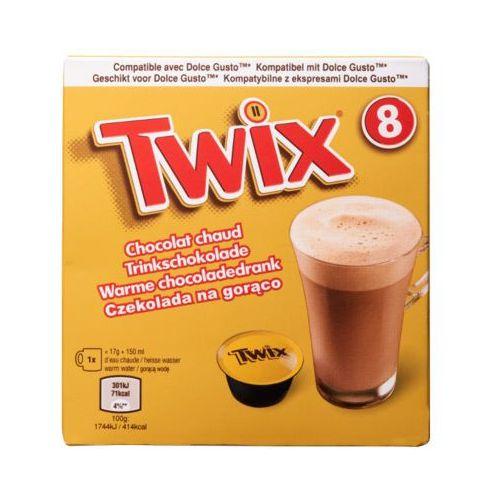 Quest food Twix 8szt czekolada na gorąco w kapsułkach