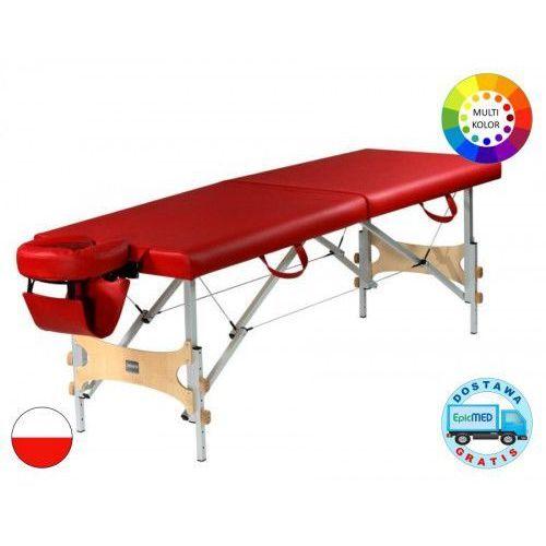 Mov Składany stół do masażu aura alu z regulacją wysokości
