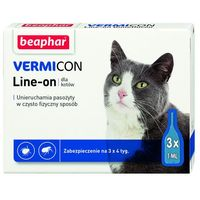 Beaphar Line-on vermicon cat (8711231119011)