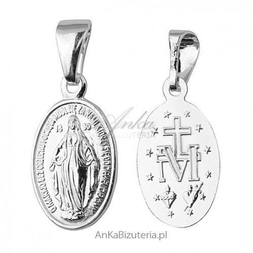 Anka biżuteria Ankabizuteria.pl medalik matka boska cudowna - srebrny medalik
