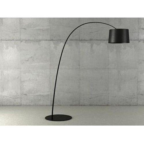e52eab77f48cb0 ... Lampa podłogowa cleo czarna - włókno węglowe, metal marki King home -  Galeria produktu ...