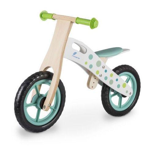 Rowerek biegowy drewniany zielony + zamów z dostawą jutro! + darmowy transport! marki Indiana