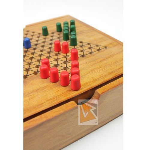 Tactic Gra chińskie warcaby wooden classic 14027