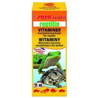 Sera reptilin vitamine - witaminowy dodatek pokarmowy dla żółwi 15ml