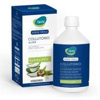 Organiczny płyn do płukania jamy ustnej z wyciągiem z aloesu i olejkiem eukaliptusowym 500ml marki Bjobj