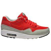 "Buty Nike Air Max 1 Essential ""Daring Red"" - Czerwony || Szary"