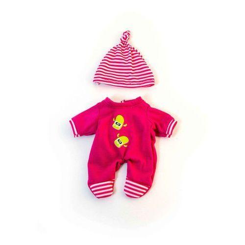 Miniland Ubranko dla lalki 21 cm różowe śpioszki z czapeczką