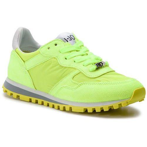 Sneakersy - alexa bxx049 px003 yellow fluo s14f1, Liu jo, 35-41