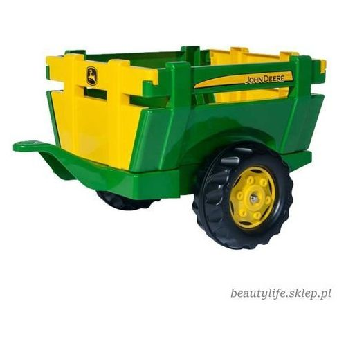 Rolly toys rollyjunior traktor na pedały john deere 3-8 lat + rękawice rolly toys gratis!