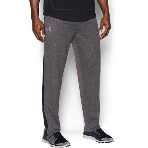 spodnie dresowe sportowe tech terry pant szare - szary marki Under armour