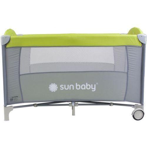 Łóżeczko jednopoziomowe Sweet Dreams zielone Sun Baby SD707/GZ