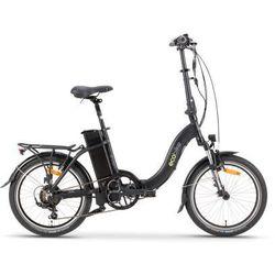 Rower elektryczny even black marki Ecobike