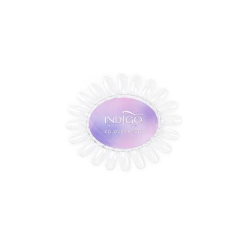 Indigo Wzornik owal przezroczysty Indigo Colour Expert (Violet)