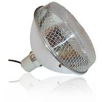 Lampa z ceramiczna oprawka 252mm + siatka ochronna SILVER REPTI GOOD