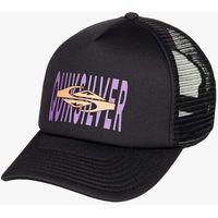 czapka z daszkiem QUIKSILVER - Standards Trucker Black (KVJ0)