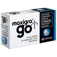 Tabletki Maxigra Go 25 mg sildenafil 2 tabletki