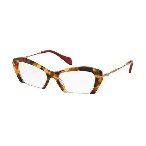 Okulary korekcyjne mu03ov rasoir ua51o1 marki Miu miu